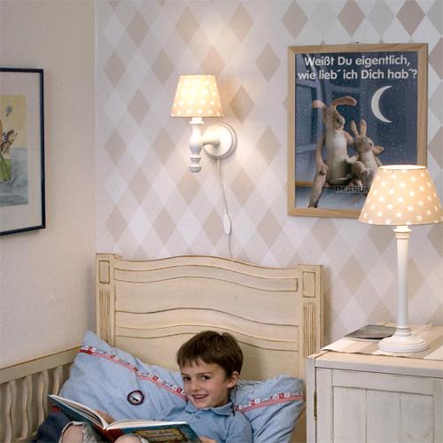 wandlampe kinderlampe wanda holz e14 h he 22cm dannenfelser kinderm bel. Black Bedroom Furniture Sets. Home Design Ideas