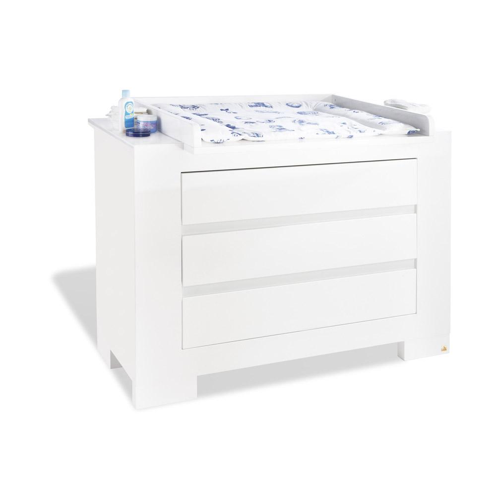 kinderm bel wickelkommode artica 3 schubladen matt. Black Bedroom Furniture Sets. Home Design Ideas
