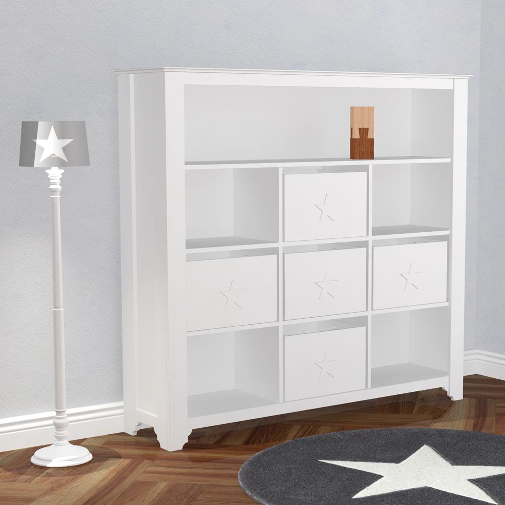 spielzeugbox aufbewahrungsbox pretty holz mdf weiss 34x42x27cm dannenfelser. Black Bedroom Furniture Sets. Home Design Ideas