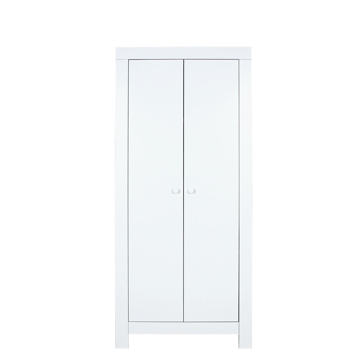 bopita kleiderschrank babyflex klein wei 2 t rig dannenfelser. Black Bedroom Furniture Sets. Home Design Ideas