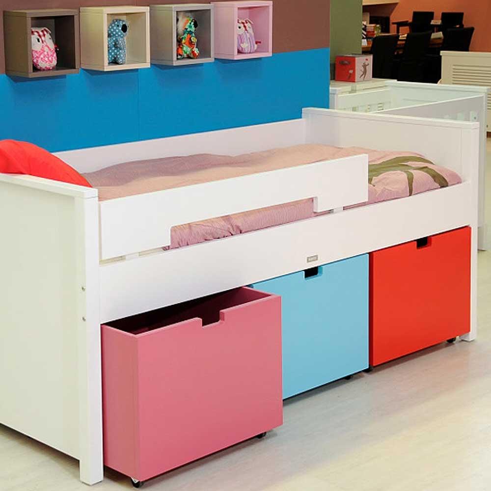 bopita kompaktbett timo wei mix match 90x200cm dannenfelser kinderm bel. Black Bedroom Furniture Sets. Home Design Ideas
