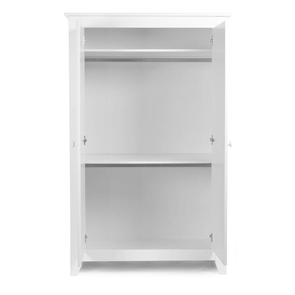 childwood kleiderschrank flemish white holz wei 2 t rig g nstig online kaufen. Black Bedroom Furniture Sets. Home Design Ideas