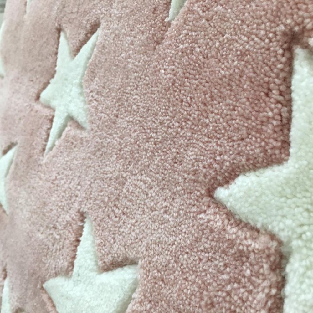 Kinderteppich sterne rosa  Kinderteppich / Teppich MULTI STAR, 120x170cm, pastell-rosa ...