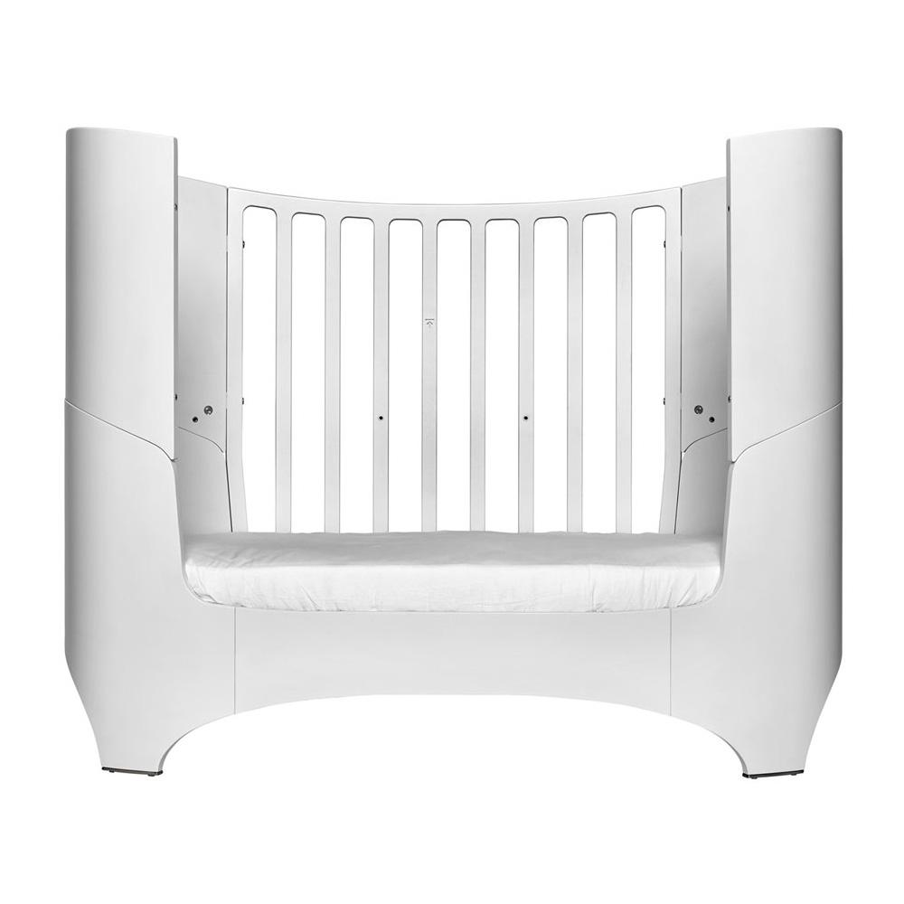 leander babybett junior kit 0 7 jahre holz 70x120 150cm weiss ohne matratze dannenfelser. Black Bedroom Furniture Sets. Home Design Ideas