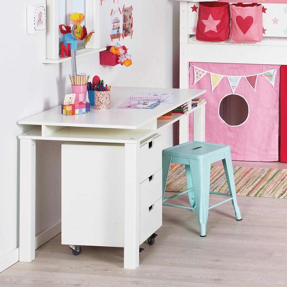 kinderschreibtisch schreibtisch manis h holz 120x65cm 20 farben g nstig online kaufen. Black Bedroom Furniture Sets. Home Design Ideas