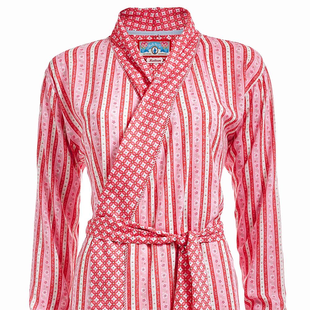 pip studio homewear kimono nella cute ribbon rot dannenfelser. Black Bedroom Furniture Sets. Home Design Ideas