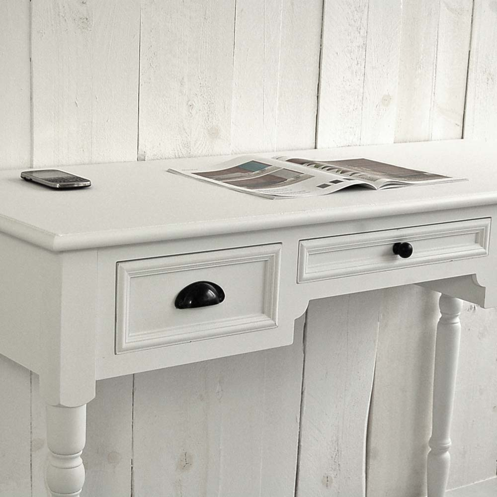 schreibtisch sekret r ferrand holz mdf wei 3 schubladen g nstig online kaufen. Black Bedroom Furniture Sets. Home Design Ideas