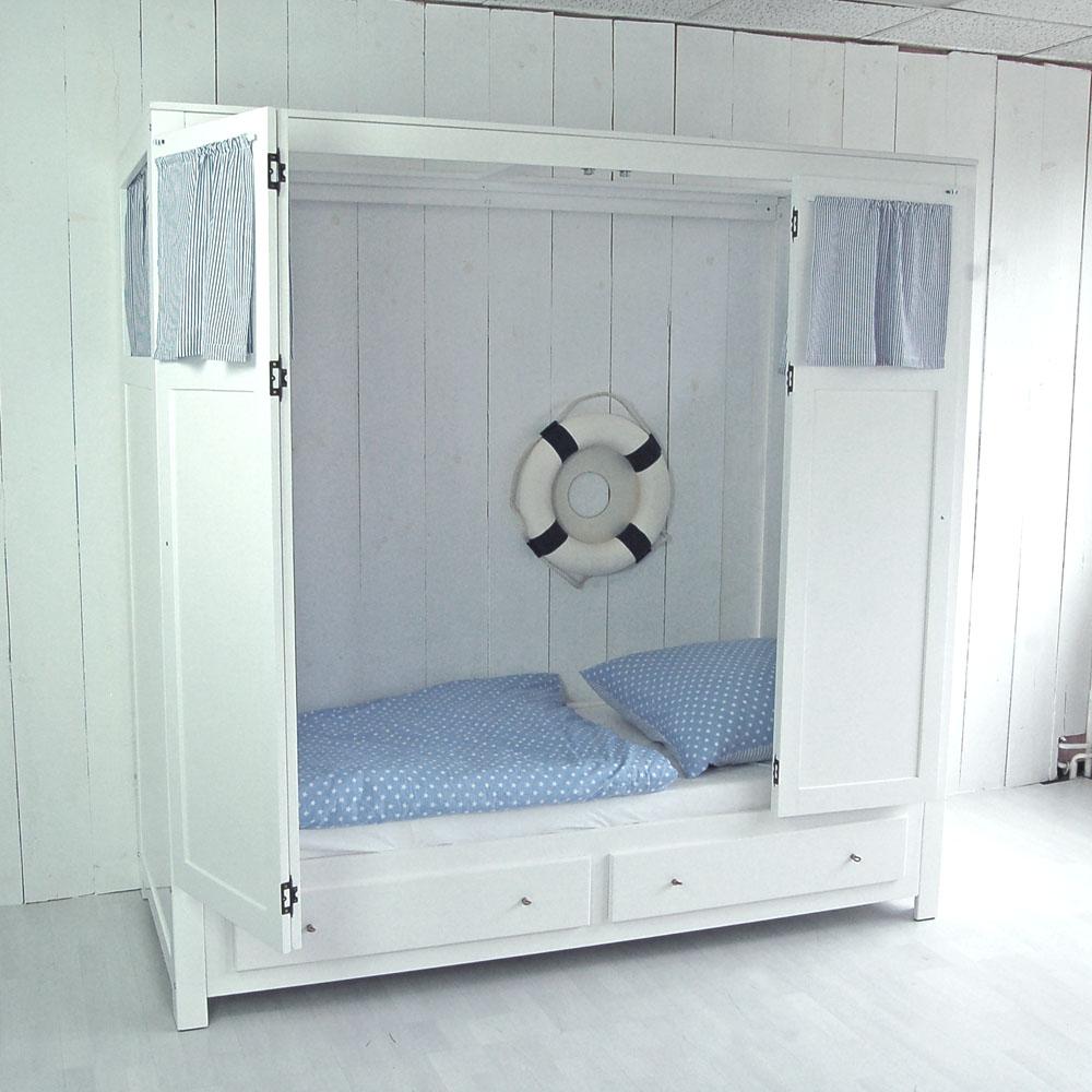 kojenbett kaj tenbett box mit stauraum und vorhang set. Black Bedroom Furniture Sets. Home Design Ideas