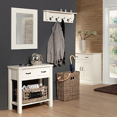 wandregal garderobe anna breite 80cm wei g nstig. Black Bedroom Furniture Sets. Home Design Ideas