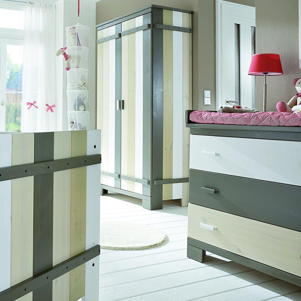 wickelkommode wickeltisch treehouse 3 schubladen massivholz kiefer dannenfelser kinderm bel. Black Bedroom Furniture Sets. Home Design Ideas