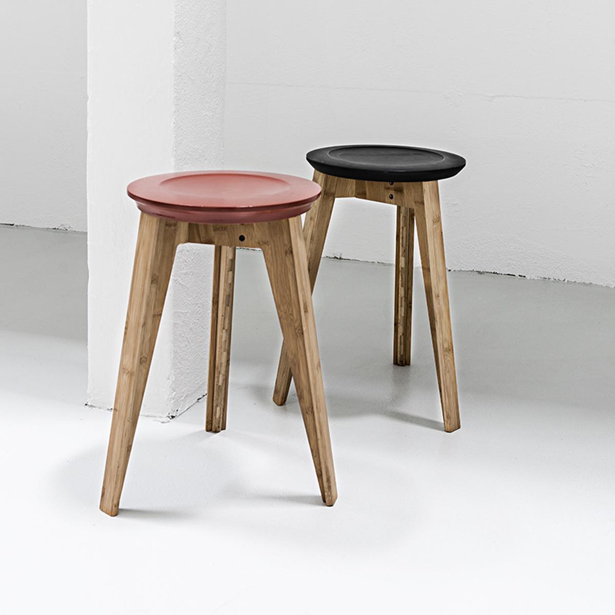 we do wood hocker stuhl button stool moso bambus buche holz schwarz dannenfelser kinderm bel. Black Bedroom Furniture Sets. Home Design Ideas