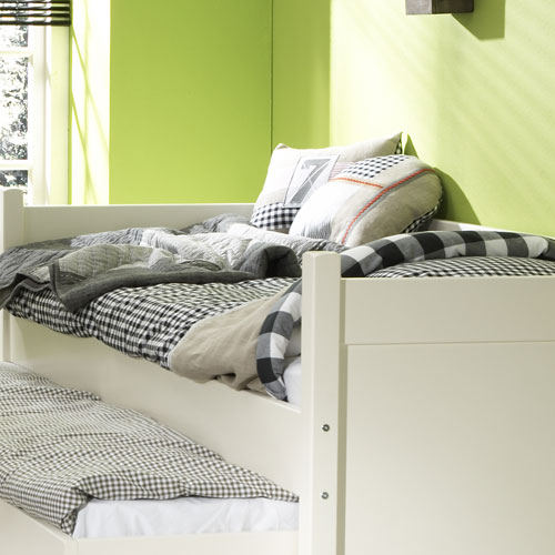sofabett kinderbett alfred inkl g stebett massivholz. Black Bedroom Furniture Sets. Home Design Ideas