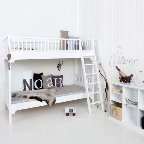 oliver furniture etagenbett kids wei 90x200cm 176cm h he g nstig online kaufen. Black Bedroom Furniture Sets. Home Design Ideas