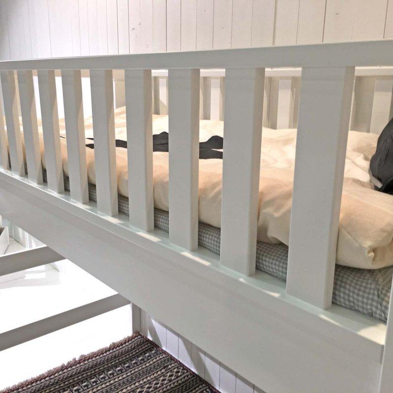 roomstar multifunktions hochbett 160cm weiss skandinavisches design 90x200cm dannenfelser. Black Bedroom Furniture Sets. Home Design Ideas