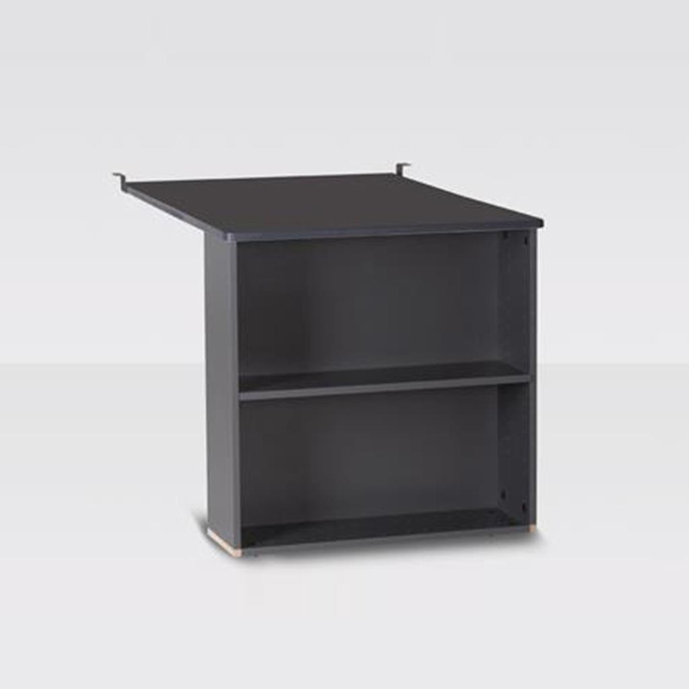 MANIS-H Hochbett / Halbhohes Bett RAGNA mit Schreibtisch, 90x200cm ...