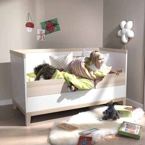 juniorbettseite mit rausfallschutz f r babybett jacob g nstig online kaufen dannenfelser. Black Bedroom Furniture Sets. Home Design Ideas
