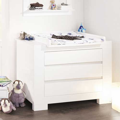 kinderzimmersparset sky 2 tlg hochglanz wei babybett. Black Bedroom Furniture Sets. Home Design Ideas