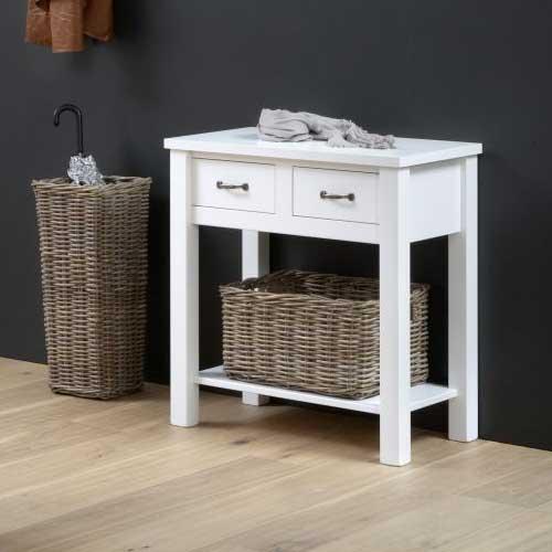 weidenkorb f r wandtisch wandkommode anna dannenfelser kinderm bel. Black Bedroom Furniture Sets. Home Design Ideas