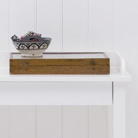 oliver furniture konsolentisch schreibtisch mit 2 schubladen wei 120x46cm dannenfelser. Black Bedroom Furniture Sets. Home Design Ideas