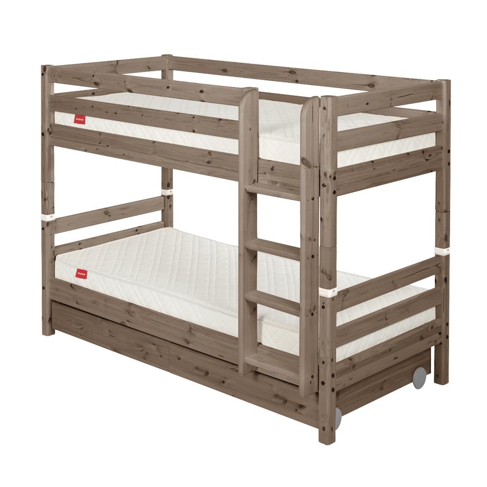 flexa classic etagenbett mit schubladen dannenfelser kinderm bel. Black Bedroom Furniture Sets. Home Design Ideas
