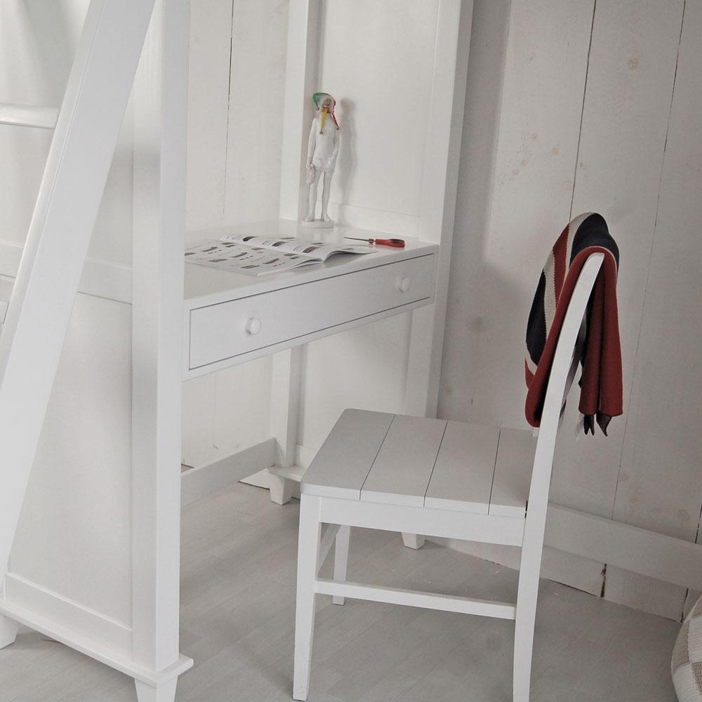 multifunktions hochbett jockey inkl regalen schreibtisch und 5 schubladen leiter links. Black Bedroom Furniture Sets. Home Design Ideas