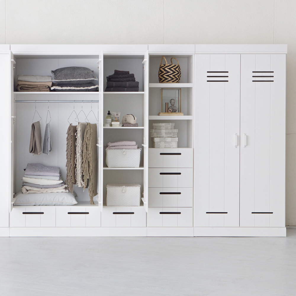 kleiderschrank connect spind woood 2 t rig 2 schubladen. Black Bedroom Furniture Sets. Home Design Ideas