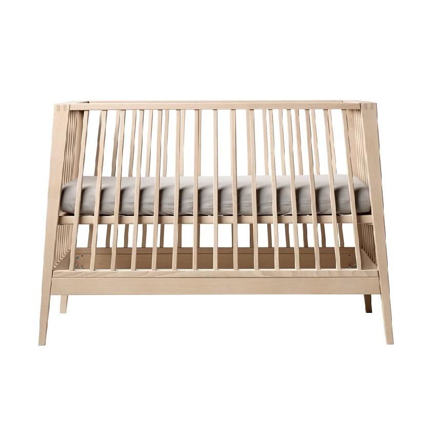 leander design babybett kinderbett linea holz buche 60x120cm dannenfelser. Black Bedroom Furniture Sets. Home Design Ideas