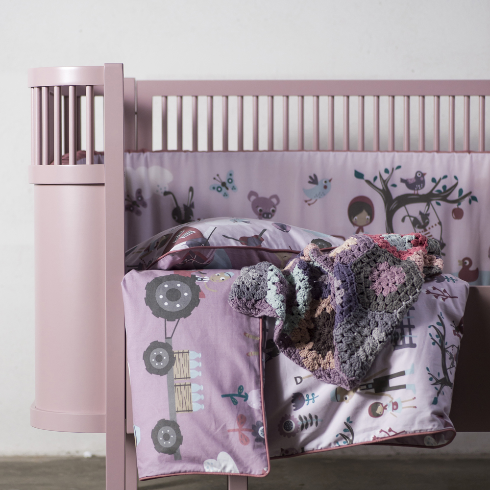 sebra bett babybett kinderbett oval ausziehbar dannenfelser. Black Bedroom Furniture Sets. Home Design Ideas