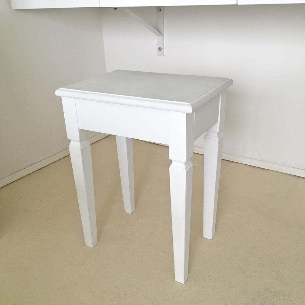 set schminktisch anabella 3 spiegel 1 schublade wei hocker g nstig online kaufen. Black Bedroom Furniture Sets. Home Design Ideas