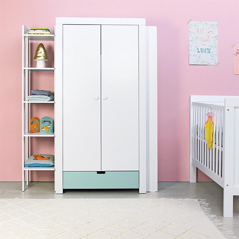 bopita offenes ansatzregal f r kleiderschrank dannenfelser kinderm bel. Black Bedroom Furniture Sets. Home Design Ideas