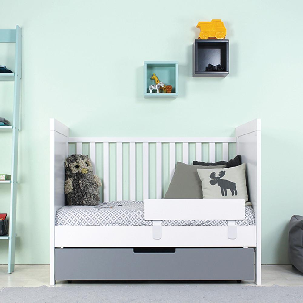 bopita babybett kombi bett babyflex mix match 70x140cm. Black Bedroom Furniture Sets. Home Design Ideas