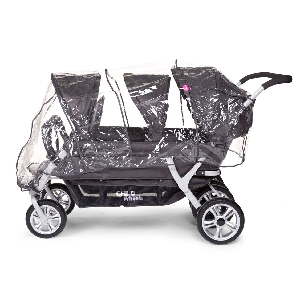 childwheels 6 sitzer kinderwagen six seater 2 f r kitas. Black Bedroom Furniture Sets. Home Design Ideas