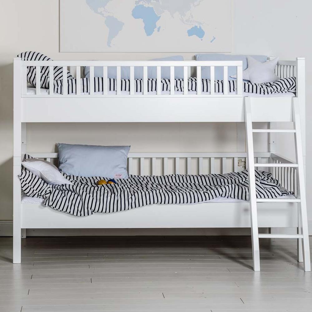 etagenbett isle of dogs massivholz wei 90x200cm umbaubar g nstig online kaufen. Black Bedroom Furniture Sets. Home Design Ideas
