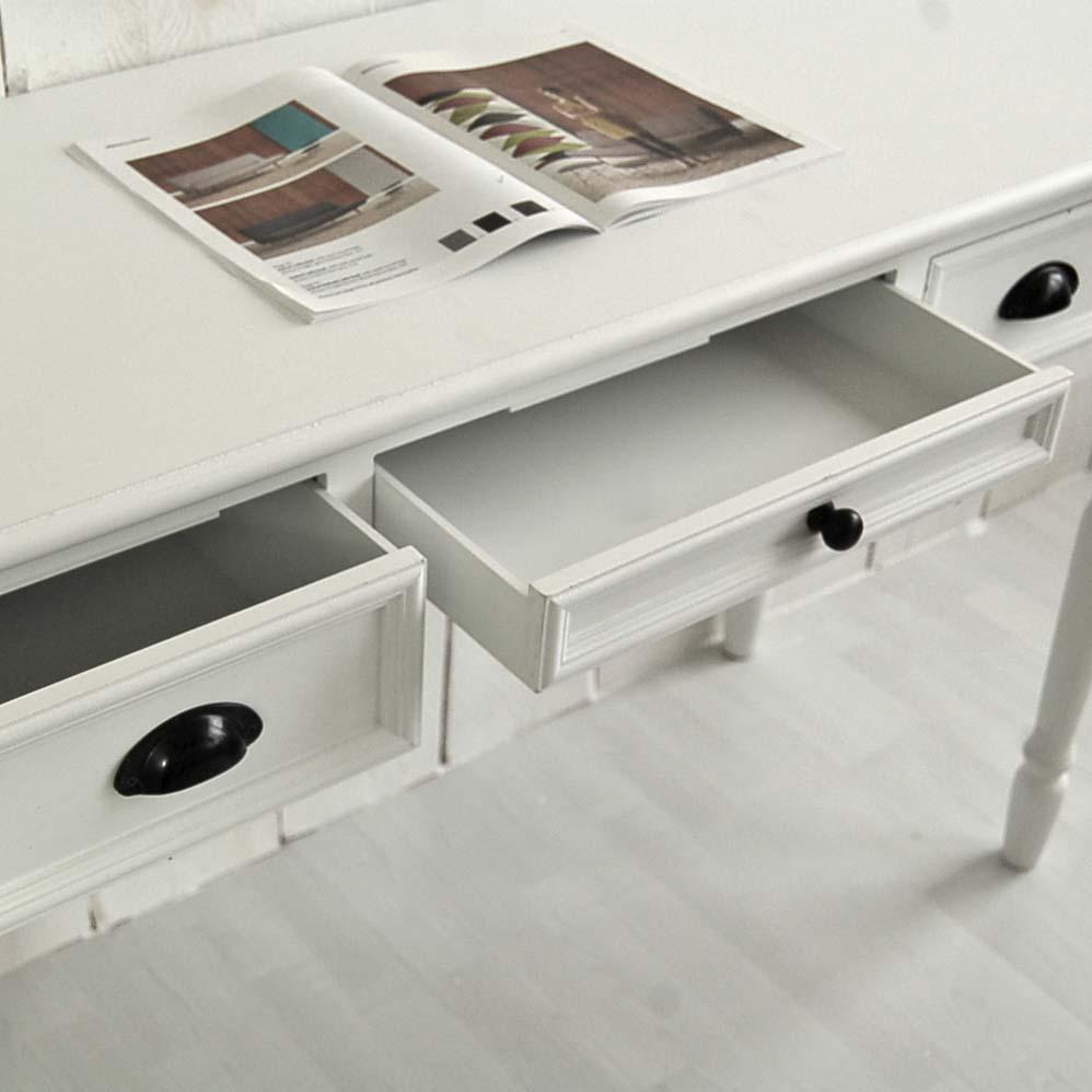 schreibtisch sekret r ferrand holz mdf wei 3. Black Bedroom Furniture Sets. Home Design Ideas