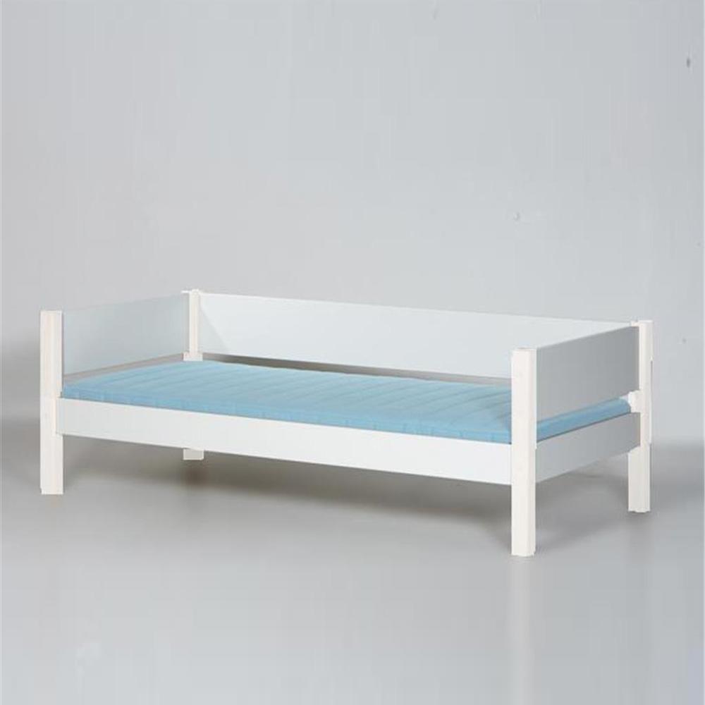 manis h hochbett halbhohes bett ragna mit schreibtisch 90x200cm h he 121cm dannenfelser. Black Bedroom Furniture Sets. Home Design Ideas