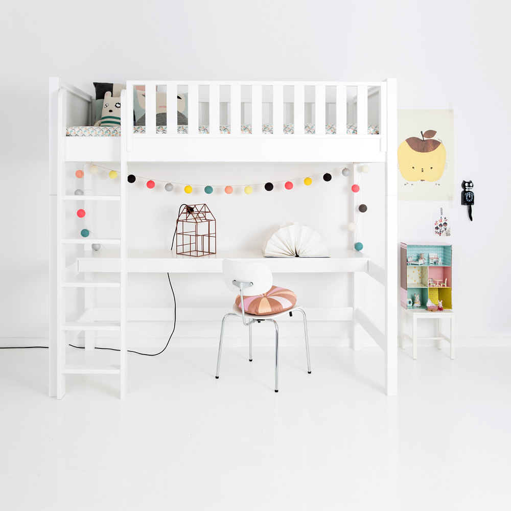 sanders jugendbett kinderbett fanny 90x200cm h he 70cm schneewei dannenfelser kinderm bel. Black Bedroom Furniture Sets. Home Design Ideas