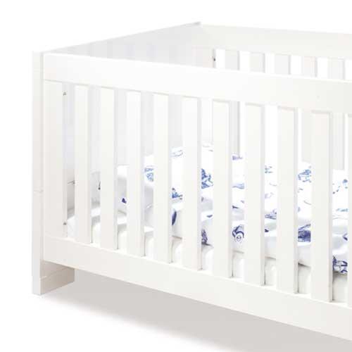 kinderzimmersparset sky 2 tlg hochglanz wei babybett. Black Bedroom Furniture Sets. Home Design Ideas