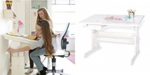 kinderschreibtische z b mit schublade aus holz verstellbar dannenfelser kinderm bel. Black Bedroom Furniture Sets. Home Design Ideas