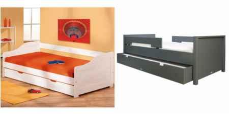 ausziehbetten gleiche h he f r kinder wei dannenfelser seite 2. Black Bedroom Furniture Sets. Home Design Ideas