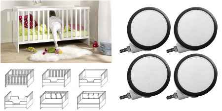 babybetten z b mit himmel oder nestchen als bettset dannenfelser kinderm bel seite 7. Black Bedroom Furniture Sets. Home Design Ideas
