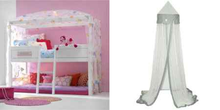 betthimmel baldachin z b f r baby oder kinderbett dannenfelser kinderm bel. Black Bedroom Furniture Sets. Home Design Ideas