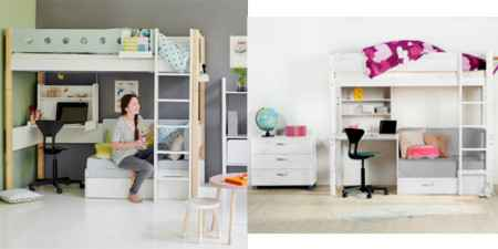 etagenbetten mit stauraum f r erwachsene kinder. Black Bedroom Furniture Sets. Home Design Ideas