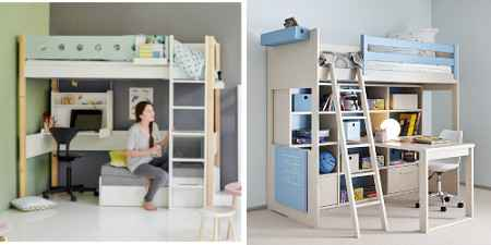 hochbetten z b mit rutsche oder schreibtisch dannenfelser kinderm bel seite 3. Black Bedroom Furniture Sets. Home Design Ideas