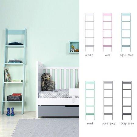 Kinder-Bücherregale - z.B. in weiß, aus Holz, mit Rollen ...