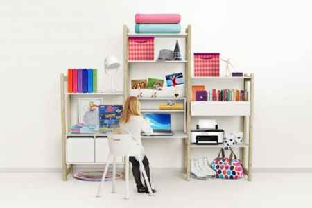 Kinderzimmer Raumteiler
