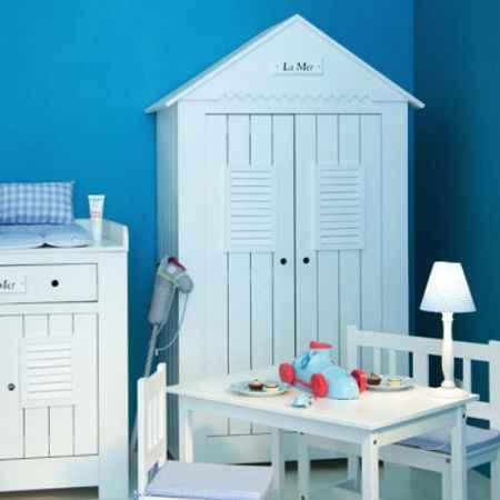 Kinderzimmerschränke in Weiß