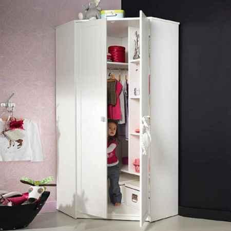 Kinderzimmerschränke Eckkleiderschrank