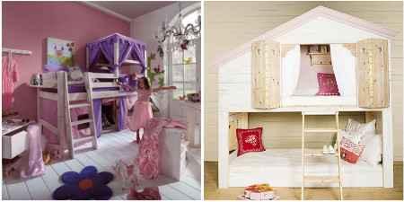 Spielbett Mädchen spielbetten für mädchen jungs kinder dannenfelser