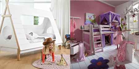 spielbetten f r m dchen jungs kinder dannenfelser. Black Bedroom Furniture Sets. Home Design Ideas